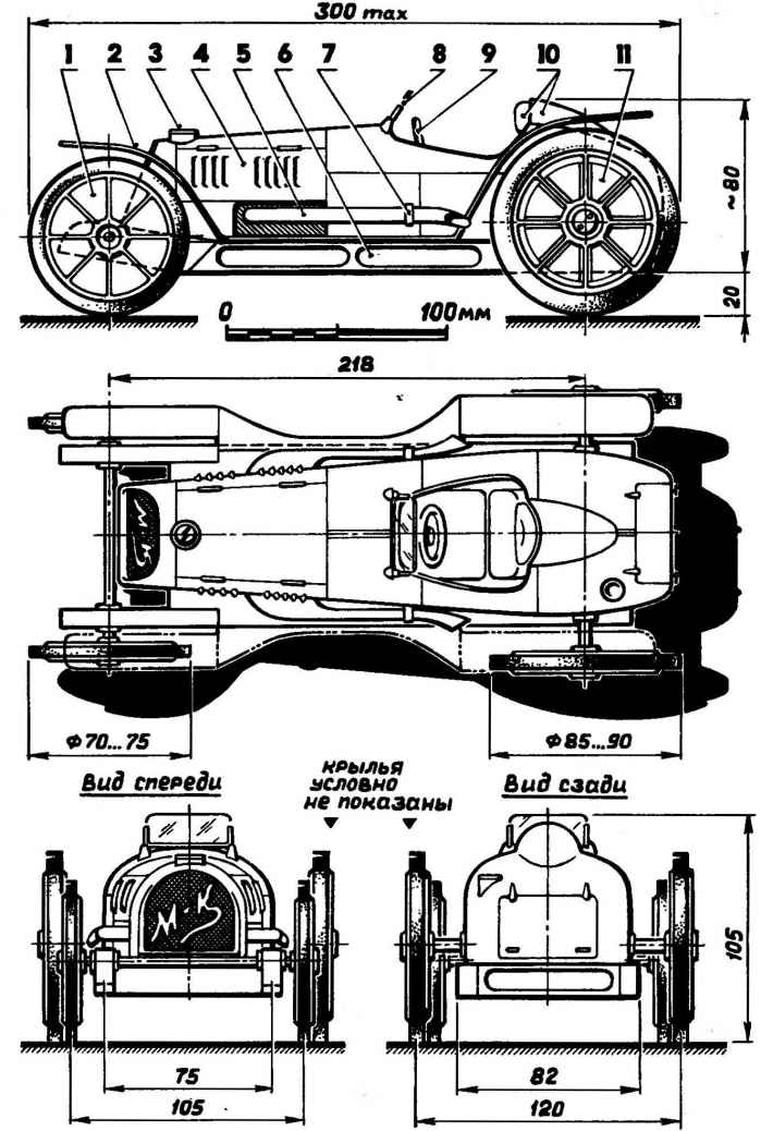 Резиномоторное авто