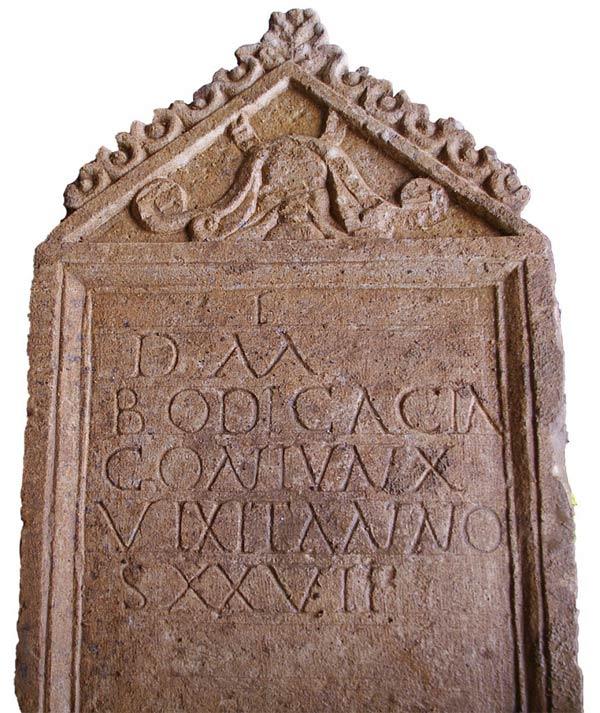 Римское надгробие с кельтским именем найдено в англии