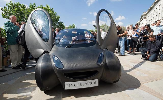 Riversimple urban car: ультралёгкий автомобиль на водороде