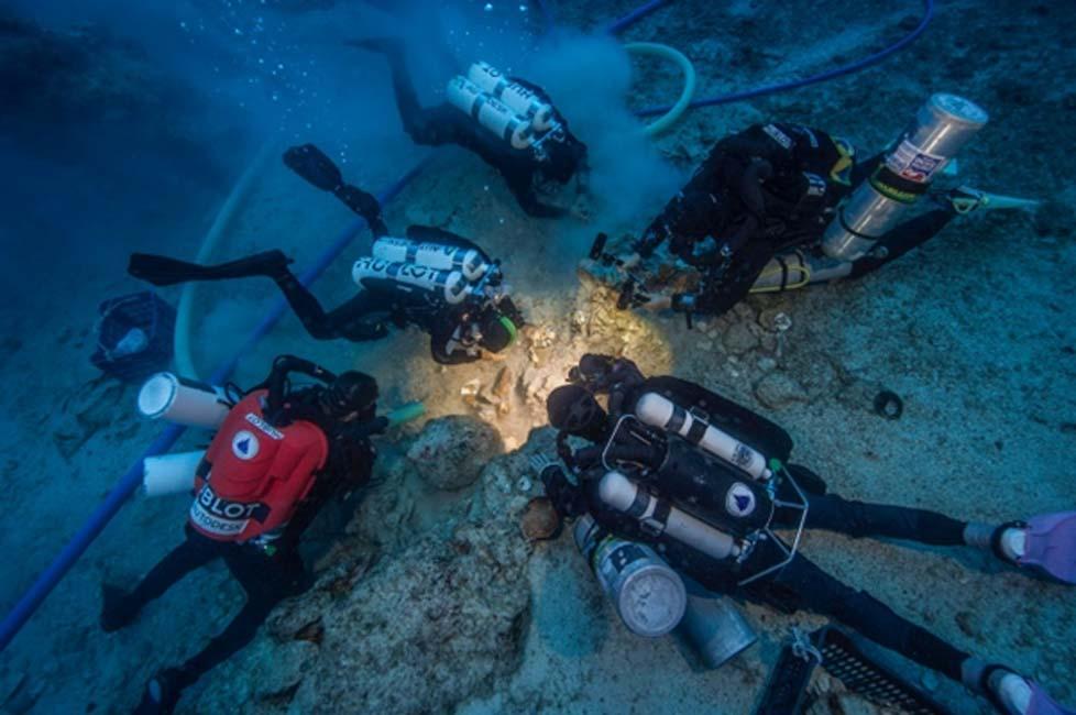 Рядом с «древнегреческим компьютером» нашли останки человека