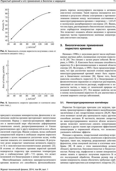 Российские учёные исследуют пористый кремний