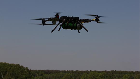 Российский октакоптер на водороде установил мировой рекорд по длительности полета: 3 часа 10 минут