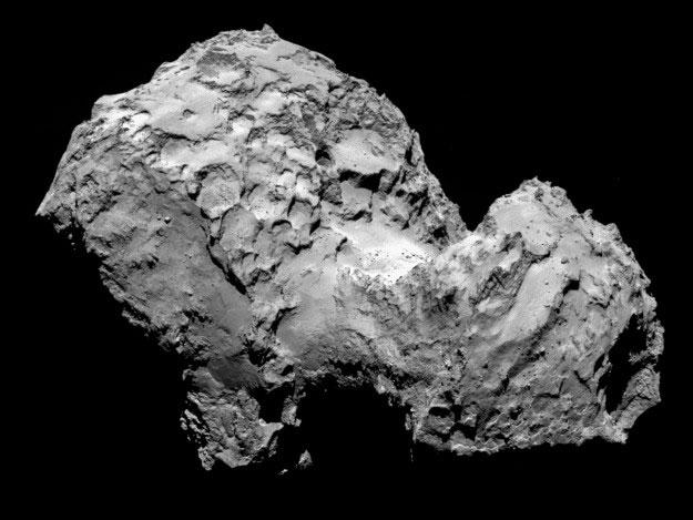 «Розетта» обнаружила молекулярный кислород в коме кометы