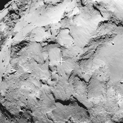 «Розетта» определилась с местом посадки
