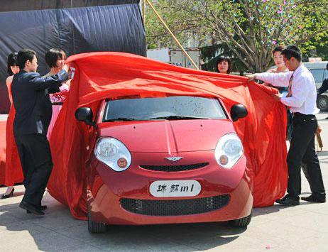 Ruilin m1: первый китайский электромобиль от chery auto пошел в серию