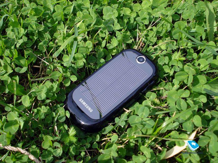 Samsung reclaim: зелёный телефон для зелёной планеты