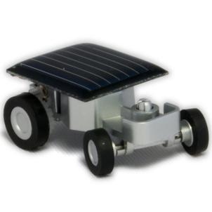 Самый маленький электромобиль на энергии солнца