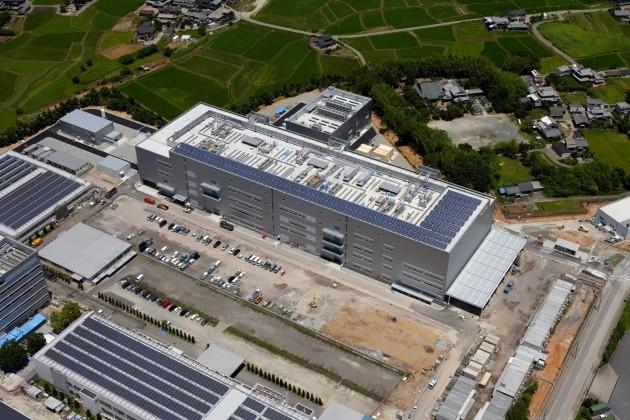 Sanyo построила завод по производству батарей для электромобилей в японии