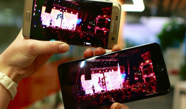 Съемка на концерте: iphone 7 plus проигрывает galaxy s7 edge