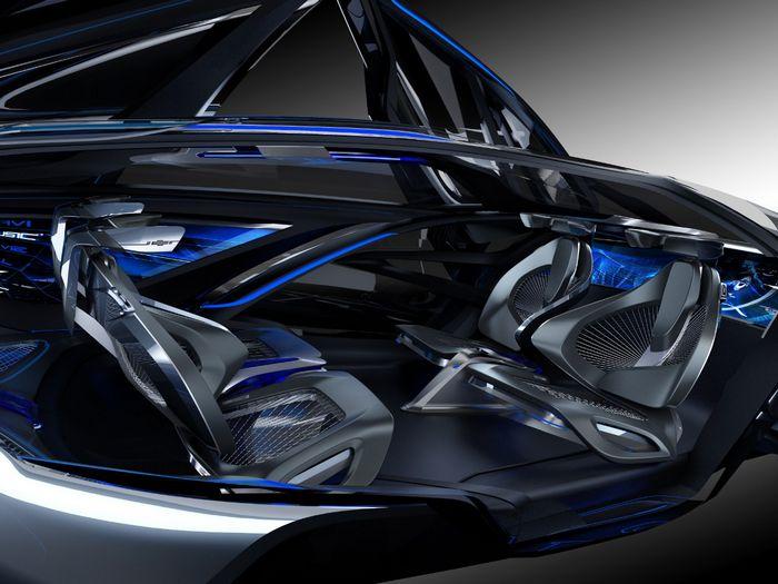 Сетевой электромобиль будущего (видео)