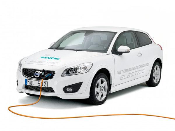 Siemens и volvo снизили время зарядки электромобиля до 90 минут
