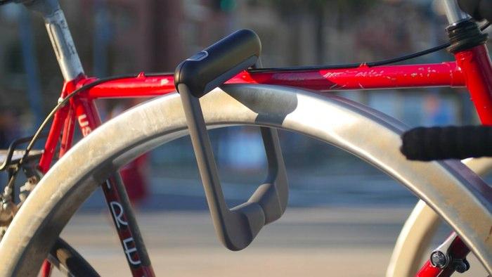 Сканер отпечатков для велосипеда