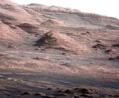 «Слоёный пирог» на марсе