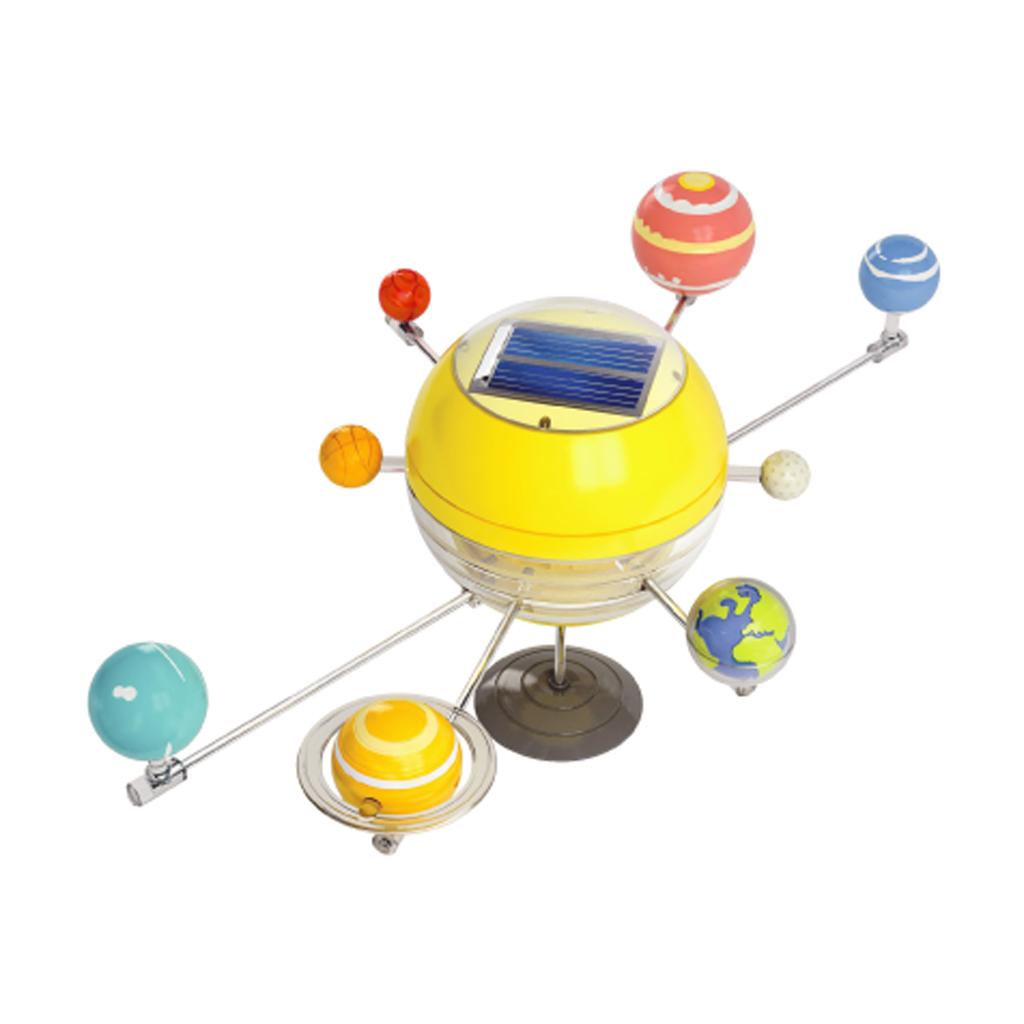 Солнечная система на солнечных же батарейках