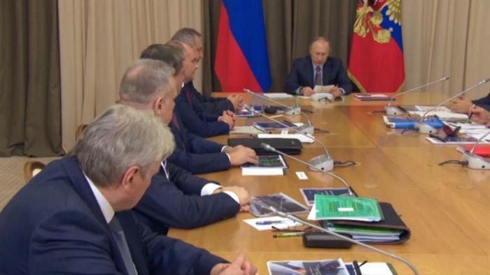 Совещание о стратегии развития госкорпорации «роскосмос»