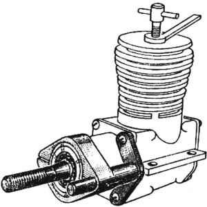 Стартер микродвигателю