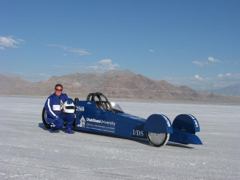 «Сырный» драгстер установил рекорд скорости