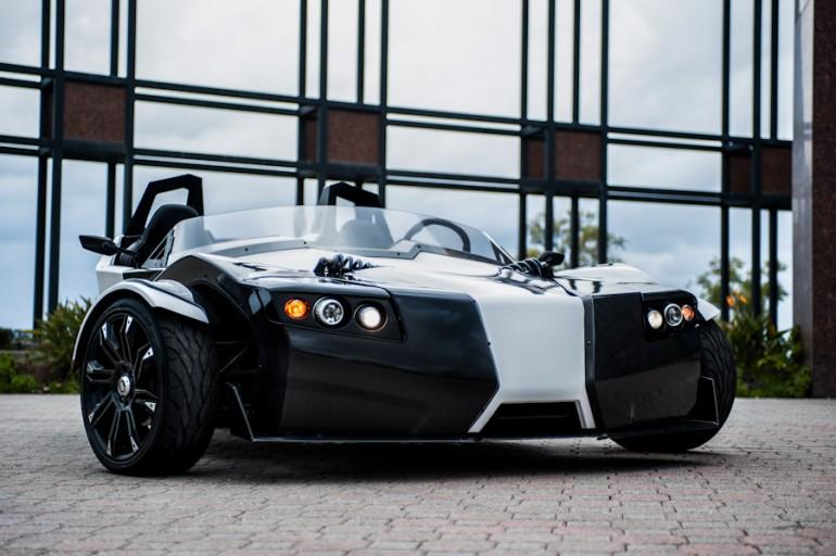Torq roadster – электромобиль с резким характером