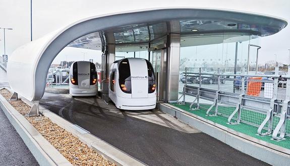 Транспортная сеть из 100 «беспилотных» электромобилей в лондоне