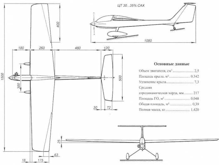 «Ударный» — планёр и самолет