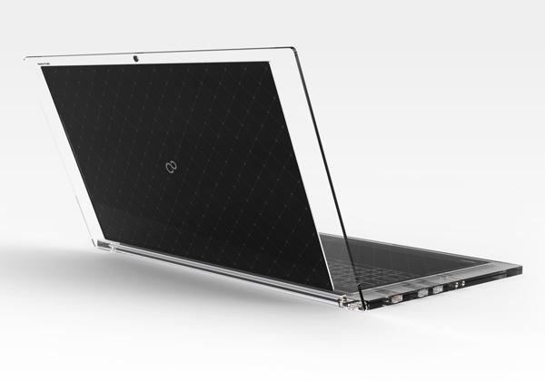 Ультрапортативный ноутбук с солнечной батареей