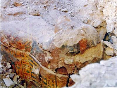 В египте нашли саркофаг «певицы амона»