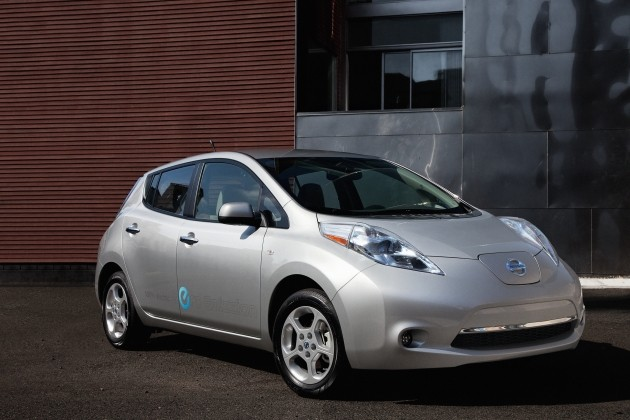 В японии началось производство электромобиля nissan leaf