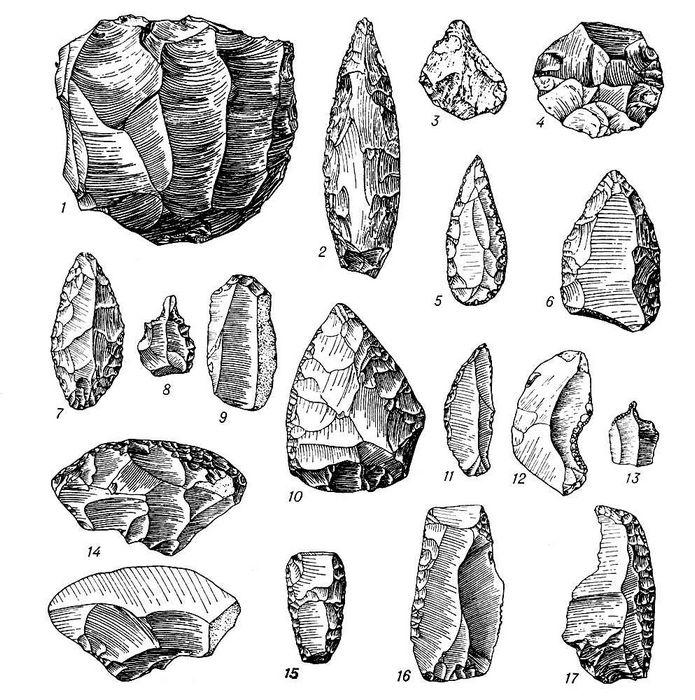 В лондоне обнаружили орудия каменного века