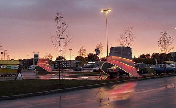 В сша появятся «развлекательные» станции подзарядки электромобилей