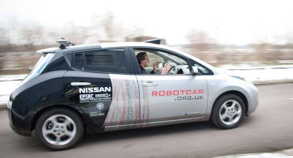 Великобритания тестирует автономные автомобили