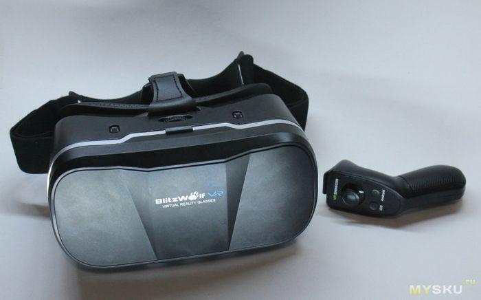 Видео обзор очков виртуальной реальности blitzwolf bw-vr3