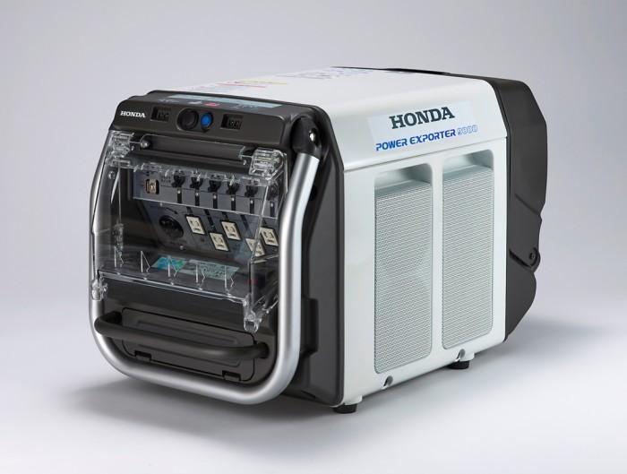 Водородный автомобиль honda может снабжать электричеством целый дом в течение 7 дней