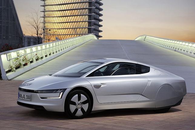Volkswagen xl1 – самый экономичный серийный гибрид в мире