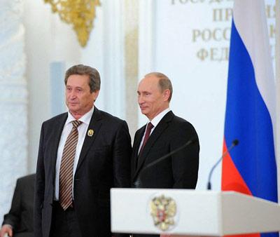 Вручены государственные премии российской федерации за 2012 год