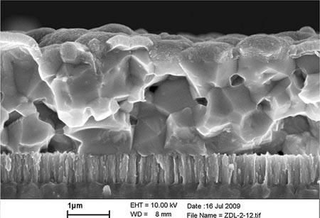 Высокоэффективный элемент солнечной батареи от ibm из легкодоступных материалов