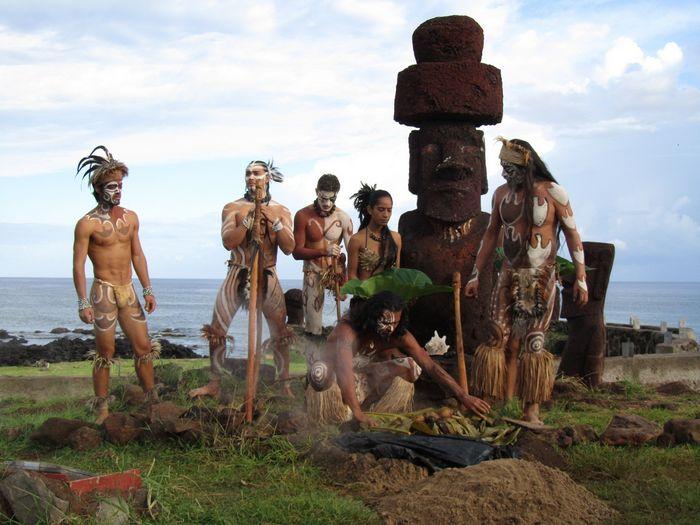 Загадки острова пасхи: новая версия