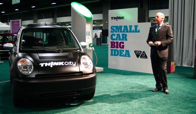 Зарядка батарей электромобиля за 15 минут. проект think city.
