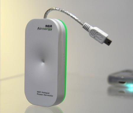 Зарядное устройство работает на энергии радиоволн