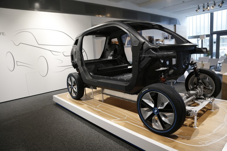 Зеленые технологии электромобиля bmw i3: lifedrive и производство