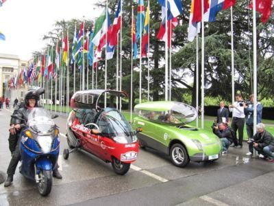 Zero emissions race — вокруг света на электромобилях