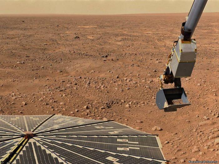 Жизнь на марсе продолжают искать