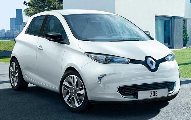 Zoe – доступный электромобиль из франции